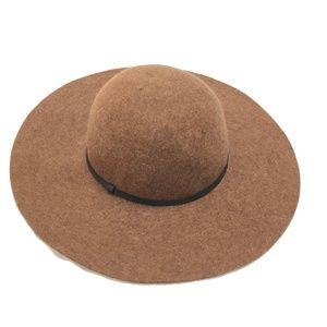 Wide Brim Felt Hat - 100% Wool